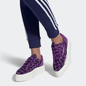 NWT ADIDAS Hypersleek Purple Houndstooth (G54057)